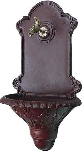 bruno krauss collection nostalgie waschbecken aus gusseisen und aluminium. Black Bedroom Furniture Sets. Home Design Ideas