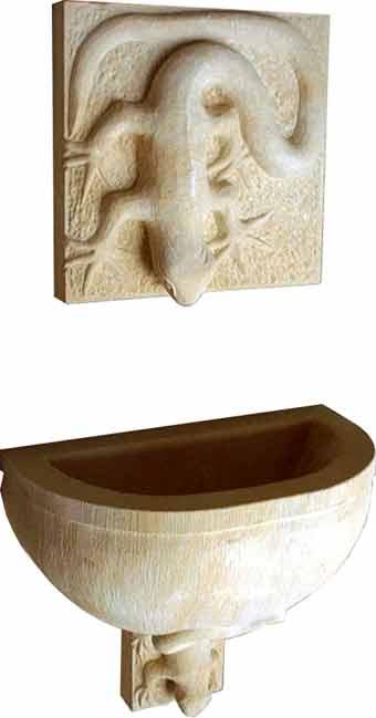 bruno krauss collection exklusive sandsteinbrunnen und wasserspiele. Black Bedroom Furniture Sets. Home Design Ideas